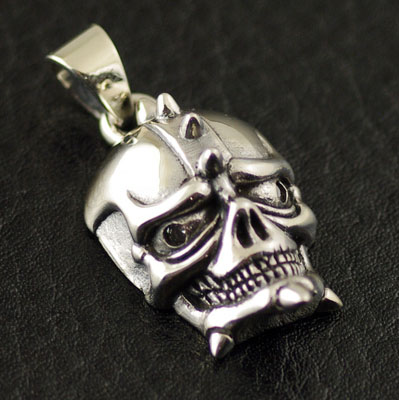 925 Sterling Silver mini Star Wars skull import Gothic Silver pendant