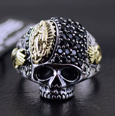 Original good vibrations new Regret Skeleton ring