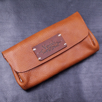 Japan import, flexible leather fully hand-crafted wallet