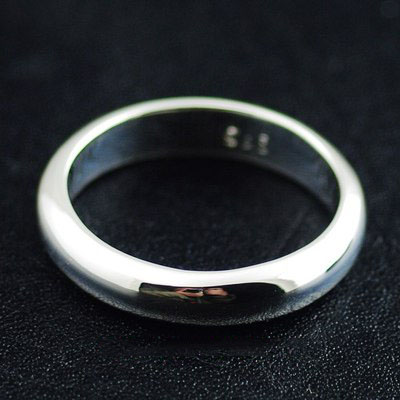 Japan import, 925 Sterling Silver refined plain Ring, could be couple ring