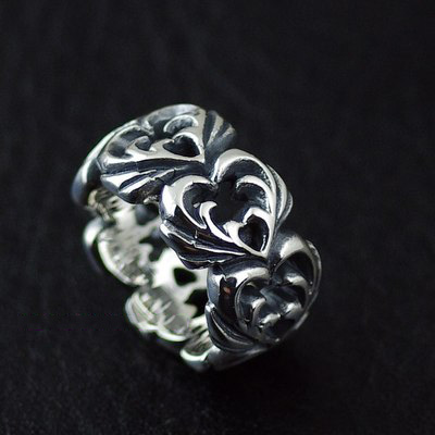 Japan import, 925 Sterling Silver love cycle Gothic Style Gothic Silver pendant