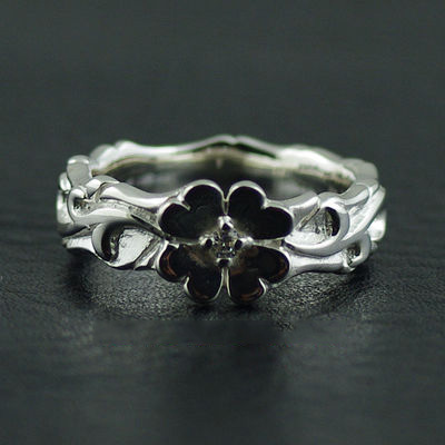Japan import, 925 Sterling Silver lucky clover Ring