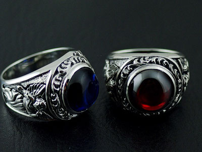Japan import, Gothic Style Gothic Silver set precious angel Ring
